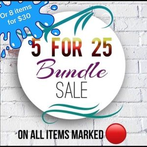 Other - 🔴 5 for $25 or 8 for $30 Big Bundle Sales
